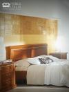 Dormitor Angelica nuc din lemn masiv