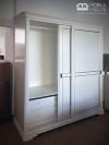 Dormitor alb modern - PAL