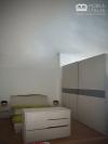 Dormitor gri modern - PAL cu inserții