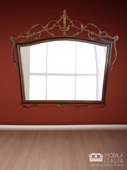 Oglinda fier forjat antichizat
